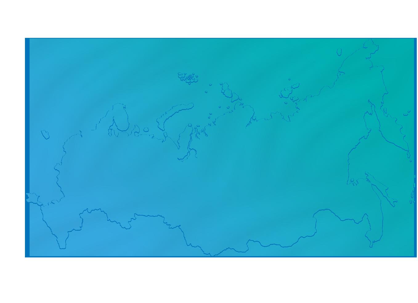 География заказов брендированной воды